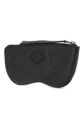 Мужская кожаный чехол для очков HARLEY-DAVIDSON черного цвета, арт. 97754-15VW | Фото 2