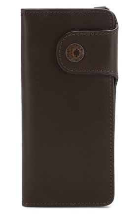 Мужской кожаное портмоне HARLEY-DAVIDSON коричневого цвета, арт. 97718-15VM | Фото 1