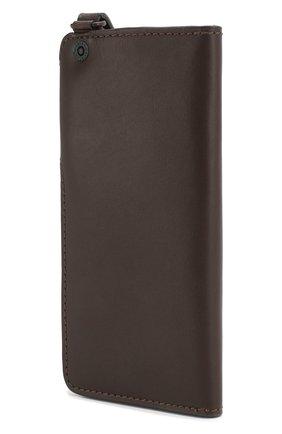 Мужской кожаное портмоне HARLEY-DAVIDSON коричневого цвета, арт. 97718-15VM | Фото 2
