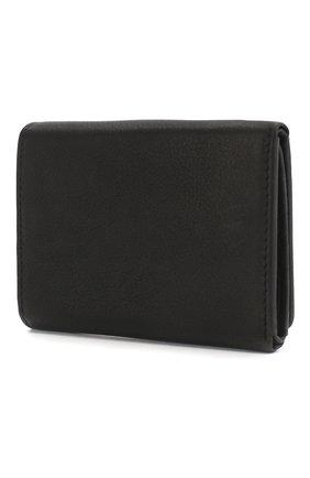 Мужской кожаное портмоне HARLEY-DAVIDSON черного цвета, арт. IM2140L-Black | Фото 2