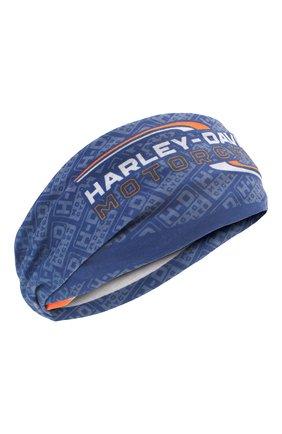 Мужского бандана HARLEY-DAVIDSON синего цвета, арт. MHW34031   Фото 1