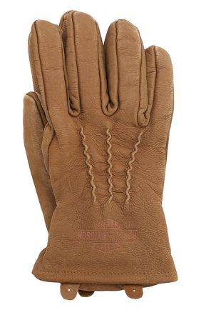 Мужские кожаные перчатки 1903 HARLEY-DAVIDSON бежевого цвета, арт. 98324-19VM | Фото 1