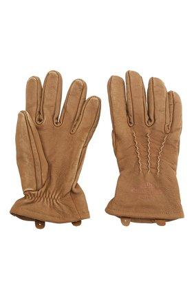 Мужские кожаные перчатки 1903 HARLEY-DAVIDSON бежевого цвета, арт. 98324-19VM | Фото 2