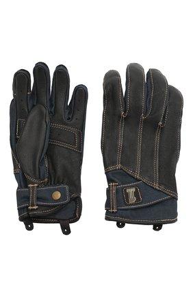 Мужские комбинированные перчатки garage HARLEY-DAVIDSON черного цвета, арт. 98119-20VM | Фото 2