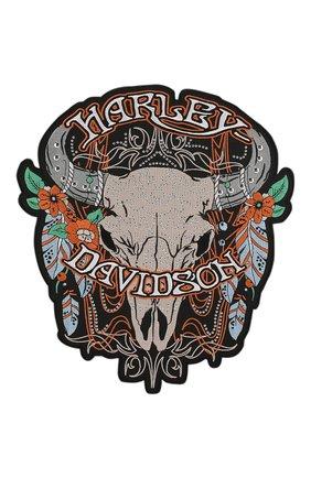 Мужская нашивка HARLEY-DAVIDSON разноцветного цвета, арт. EM204307 | Фото 1