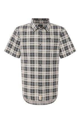 Мужская хлопковая рубашка black label HARLEY-DAVIDSON разноцветного цвета, арт. 96458-16VM | Фото 1