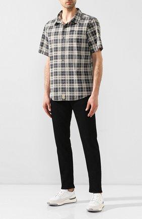 Мужская хлопковая рубашка black label HARLEY-DAVIDSON разноцветного цвета, арт. 96458-16VM | Фото 2