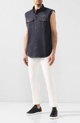 Мужская джинсовая рубашка genuine motorclothes HARLEY-DAVIDSON серого цвета, арт. 96008-16VM | Фото 2
