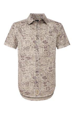 Хлопковая рубашка Black Label | Фото №1