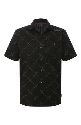 Мужская рубашка black label HARLEY-DAVIDSON черного цвета, арт. 96011-10VM | Фото 1