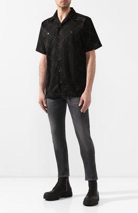 Мужская рубашка black label HARLEY-DAVIDSON черного цвета, арт. 96011-10VM | Фото 2