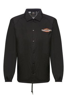 Мужская куртка genuine motorclothes HARLEY-DAVIDSON черного цвета, арт. 97436-20VX | Фото 1