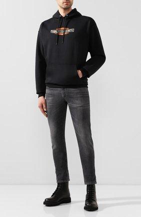Мужской худи genuine motorclothes HARLEY-DAVIDSON черного цвета, арт. 96492-20VM   Фото 2
