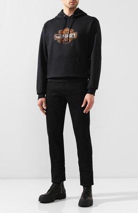 Мужской худи genuine motorclothes HARLEY-DAVIDSON черного цвета, арт. 96490-20VM   Фото 2