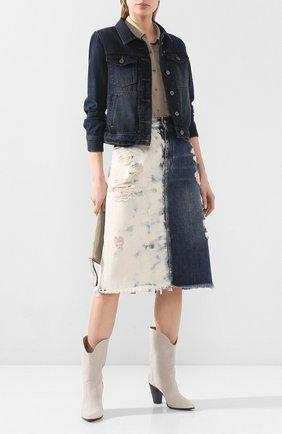 Женская джинсовая куртка garage HARLEY-DAVIDSON черного цвета, арт. 96082-18VW   Фото 2