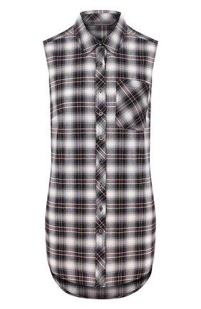 Женская хлопковая рубашка garage HARLEY-DAVIDSON разноцветного цвета, арт. 96246-18VW | Фото 1