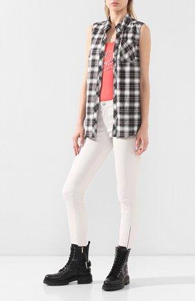 Женская хлопковая рубашка garage HARLEY-DAVIDSON разноцветного цвета, арт. 96246-18VW | Фото 2