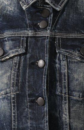Женский джинсовый жилет black label HARLEY-DAVIDSON синего цвета, арт. 96368-16VW | Фото 5
