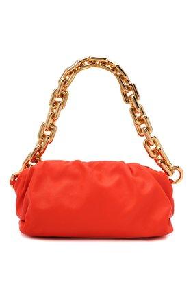 Женская сумка chain pouch BOTTEGA VENETA оранжевого цвета, арт. 620230/VCP40 | Фото 1