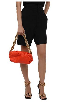 Женская сумка chain pouch BOTTEGA VENETA оранжевого цвета, арт. 620230/VCP40   Фото 2