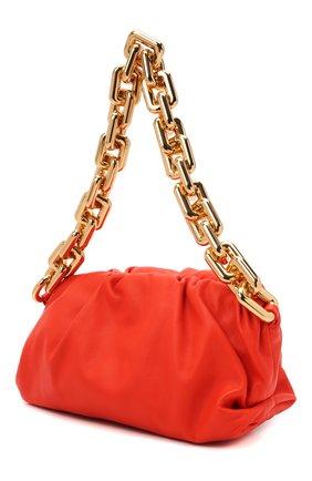Женская сумка chain pouch BOTTEGA VENETA оранжевого цвета, арт. 620230/VCP40   Фото 3