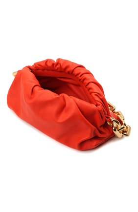 Женская сумка chain pouch BOTTEGA VENETA оранжевого цвета, арт. 620230/VCP40   Фото 4