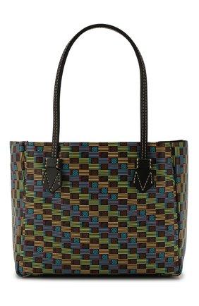 Мужская кожаная сумка MOREAU разноцветного цвета, арт. SVINSPHH0BBNSTB | Фото 1