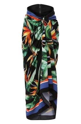 Женская шелковая юбка DOLCE & GABBANA разноцветного цвета, арт. F4BV2T/FPAIL | Фото 1