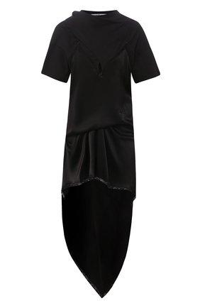 Женское платье ALEXANDER WANG черного цвета, арт. 1WC1206290 | Фото 1