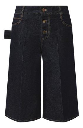 Женские джинсовые шорты BOTTEGA VENETA синего цвета, арт. 618496/VF400 | Фото 1