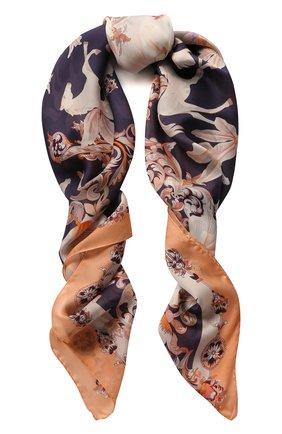 Женский платок pegasus RADICAL CHIC коричневого цвета, арт. 490051.23.03 | Фото 1