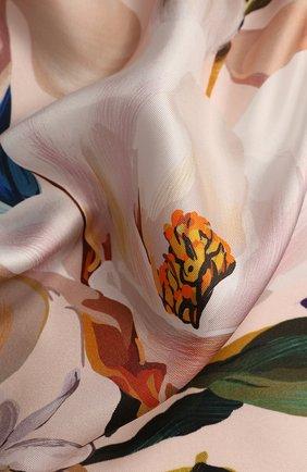 Женский платок la sposa RADICAL CHIC розового цвета, арт. 500973.07.02   Фото 2