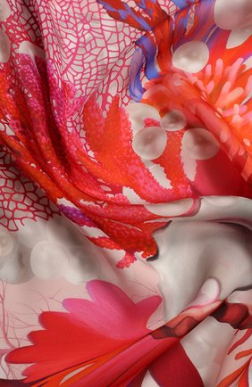 Женский платок rosso RADICAL CHIC розового цвета, арт. 490232.23.03 | Фото 2
