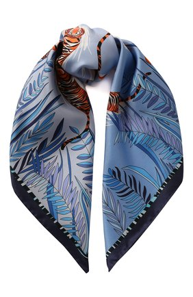 Женский платок stream RADICAL CHIC голубого цвета, арт. 403082.07.02 | Фото 1