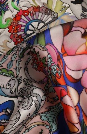 Женский платок barocco RADICAL CHIC разноцветного цвета, арт. 501822.07.02 | Фото 2