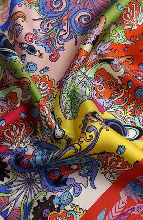 Женский платок fusion RADICAL CHIC бежевого цвета, арт. 512311.07.02 | Фото 2