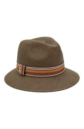 Женская соломенная шляпа ingrid LORO PIANA коричневого цвета, арт. FAI5791   Фото 1