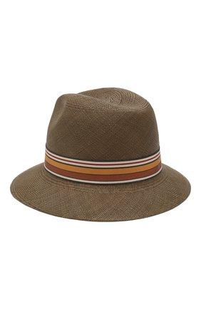 Женская соломенная шляпа ingrid LORO PIANA коричневого цвета, арт. FAI5791   Фото 2