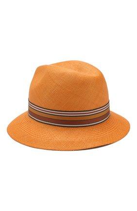 Женская соломенная шляпа ingrid LORO PIANA оранжевого цвета, арт. FAI5791   Фото 2