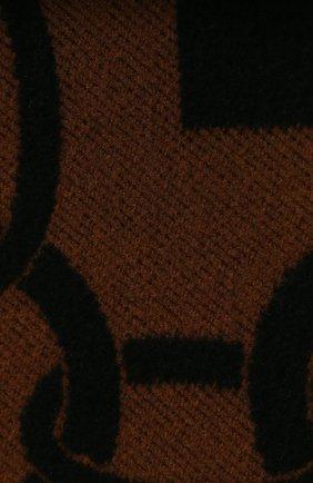Мужского шерстяной плед FRETTE черного цвета, арт. FR6607 F0400 130I | Фото 2