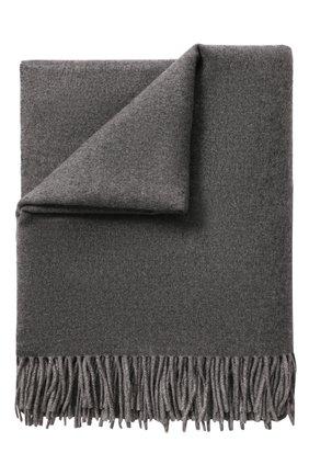 Мужского кашемировый плед FRETTE темно-серого цвета, арт. FR6610 F0400 130S | Фото 1
