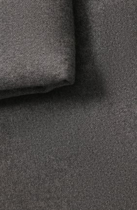 Мужского кашемировый плед FRETTE темно-серого цвета, арт. FR6610 F0400 130S | Фото 2