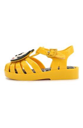 Детские сандалии MELISSA желтого цвета, арт. 32675 | Фото 2