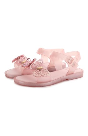 Детские босоножки MELISSA розового цвета, арт. 32747 | Фото 1