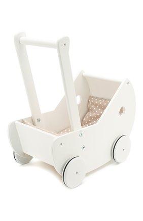 Детского коляска для кукол KID`S CONCEPT белого цвета, арт. 1000404 | Фото 1