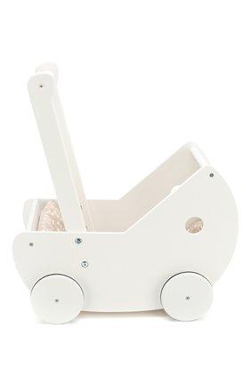 Детского коляска для кукол KID`S CONCEPT белого цвета, арт. 1000404 | Фото 2
