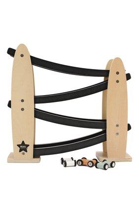 Детского игрушечная автотрасса KID`S CONCEPT черного цвета, арт. 1000101 | Фото 2
