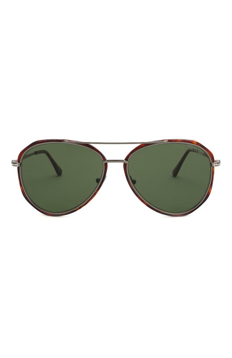 Мужские солнцезащитные очки TOM FORD коричневого цвета, арт. TF749 | Фото 3