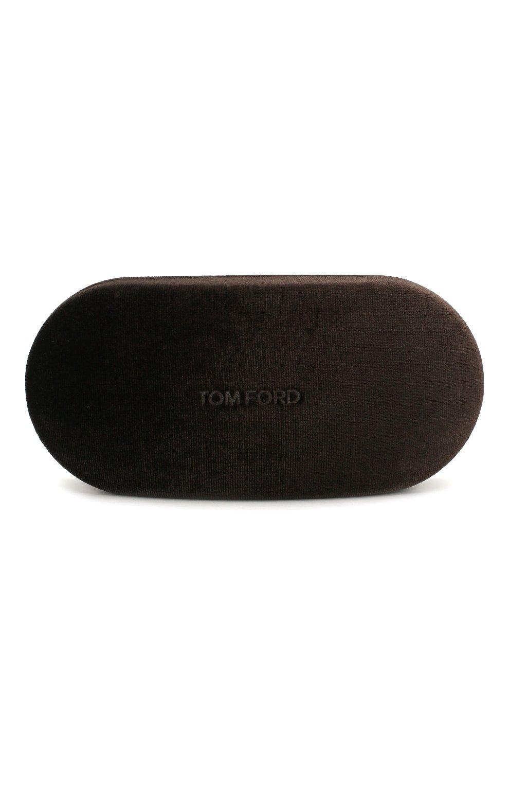 Мужские солнцезащитные очки TOM FORD коричневого цвета, арт. TF749 | Фото 5