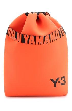 Мужской текстильный рюкзак Y-3 оранжевого цвета, арт. FS2368/M | Фото 1